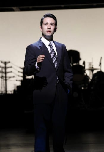 Graham Foote as Frankie Valli. Image by Jeff Busby
