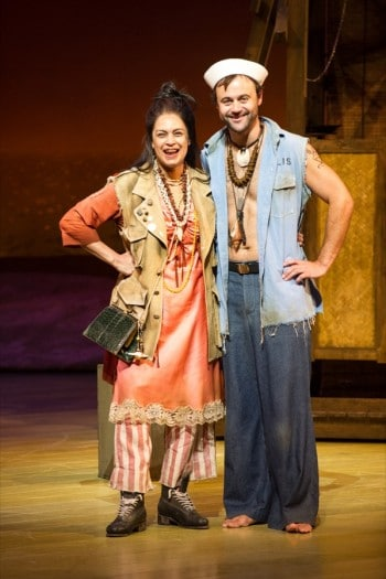 Christine Anu and Gyton Grantley will star in South Pacific. Photo by Kurt Sneddon