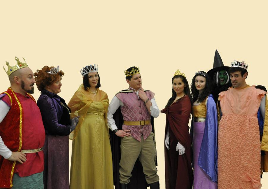 """The cast of """"The Prince's Quest"""""""