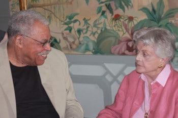 Angela Lansbury and James Earl Jones