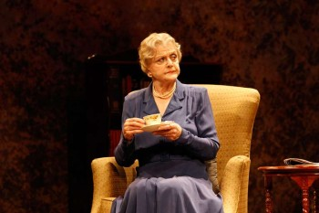 Angela Lansbury in Driving Miss Daisy. Image by Jeff Busby