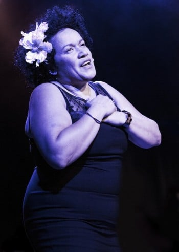 At Last: The Etta James Story - Vika Bull. Image by Chrissie Francis