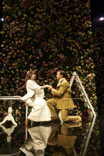 Adriane Daff and Scott Sheridan in The Importance of Being Earnest. Image by Gary Marsh