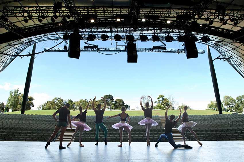The Australian Ballet will present Telstra Ballet in the Bowl tonight in Melbourne. Image by BelindaStrodder