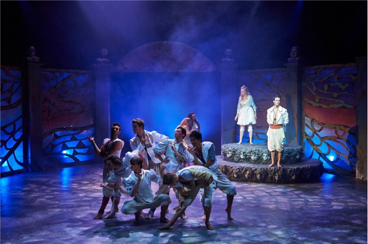 Once OnThis Island - WAAPA 2013 3rd Year Music Theatre. Image by Jon Green