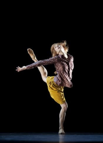 Sylvie Guillem in 6000 Miles Away. Photo by Bill Cooper.