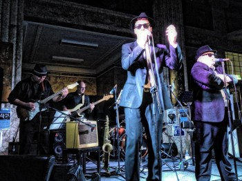 The Blues Brothers Rhythm & Blues Revue. Image supplied