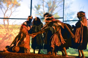 Kungkarangkalpa: Seven Sisters Songline, performed by Anangu Dance Troupe from the APY Lands in Canberra 2nd March 2013.