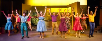 Northern Light Theatre Company's production of Little Shop Of Horrors. Image supplied