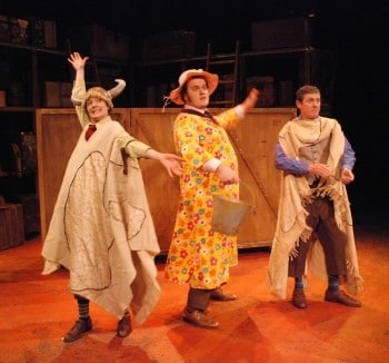 Patch Theatre's Mr McGee and the Biting Flea. Image supplied