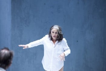 Sarah Peirse in Sydney Theatre Company's Fury.  By Lisa Tomasetti.