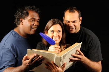 Yirra Yaakin's production of Shakespeare's Sonnets in Noongar.