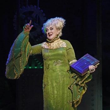 Maggie Kirkpatrick as Madame Morrible in WICKED