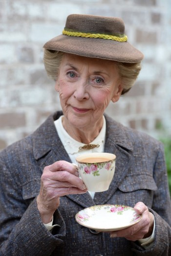 Perfect fit: Judi Farr as Miss Marple.