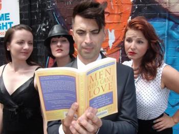 Left to right: Emma Davis, Elethea Sartorelli, Brendan Hanson and Heather Michele Lawler