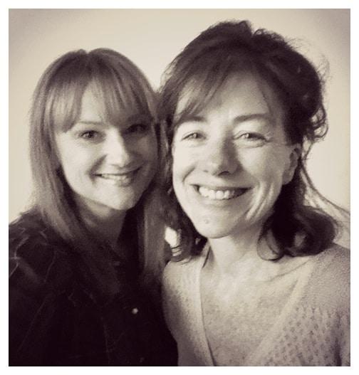 Marika Aubrey and Bernadette Robinson