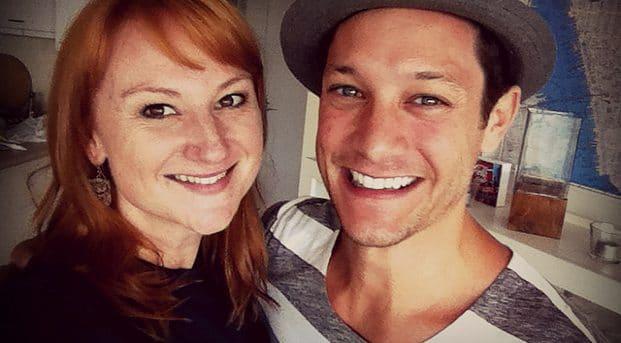 Rob Mills and Marika Aubrey