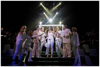 Shane Warne, the Musical. Pic by Meredith O'Shea