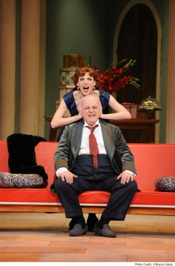 Rachelle Durkin and Conal Coad in Don Pasquale. Image by Branco Gaica.