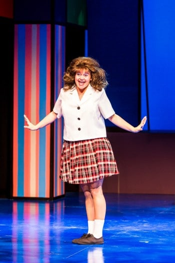 Jessica Rookeward as Tracy Turnblad. Photo by Grant Leslie.