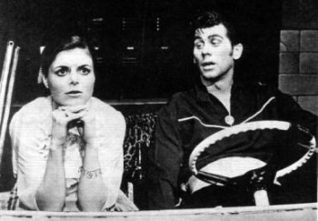 Carole Demas and Barry Bostwick in the original Broadway production of Grease