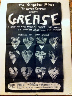 Poster for the original 1971 Chicago production of Grease