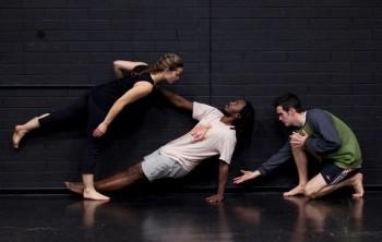 Katherine Shaw, Kevin Wangai and Declan Burgess. Image by Mustafa Al Mahdi
