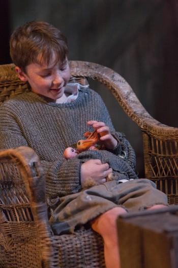 Rory Potter in Storm Boy. Picture by Brett Boardman.