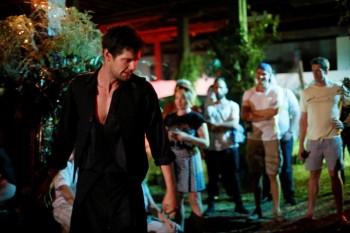 Jesse Phillips as Demetrius - Upstart Theatre's Midsummer Fringe World 2013