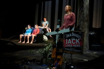 Luke McMahon, Will McNeill, Paul Ashcroft, Whitney Richards Image by Gary Marsh Photography