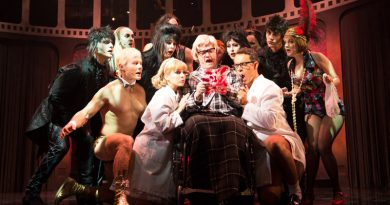 Rocky Horror production shot. Image supplied