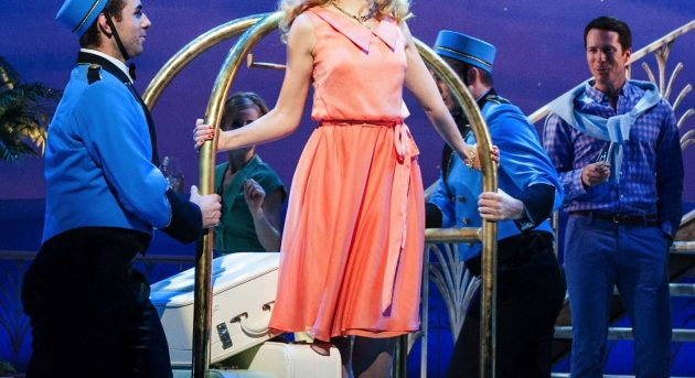 Amy Lehpamer in Dirty Rotten Scoundrels. Image by Kurt Sneddon