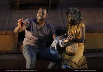 Jimi Bani and Frances Djulibing Photo:  Jeff Busby