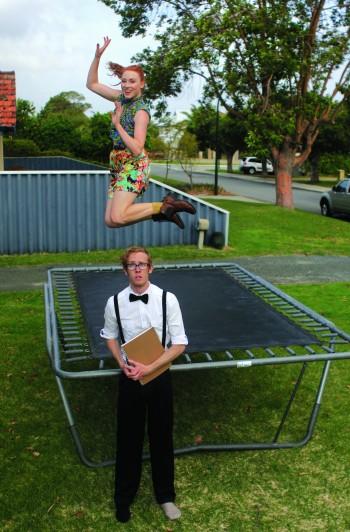 Amanda Woodhams and Shane Adamczak Photo Mitchell Richards