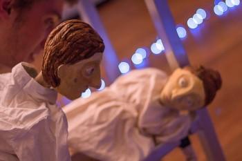 Puppets created by Chole Flockheart Photo:  Jeff Watkins