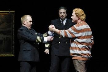 Barry Ryan as Gunther, Daniel Sumegi as Hagen & Stefan Vinke as Siegfried.