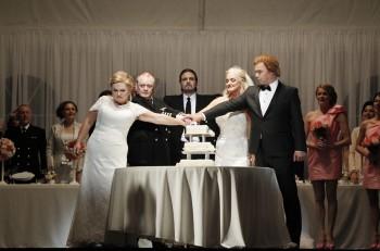 Susan Bullock as Brünnhilde, Barry Ryan as Gunther, Daniel Sumegi as Hagen, Sharon Prero as Gutrune & Stefan Vinke as Siegfried.