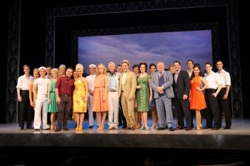 Dirty Rotten Scoundrels cast with Producer George Youakim and Beau Keller from Mantra Hotels