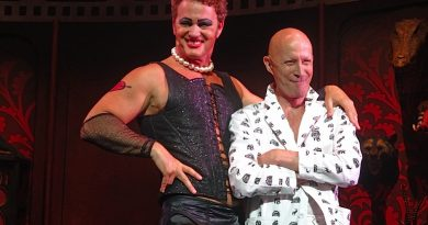 Craig McLachlan and Richard O'Brien. Image by Shane O'Connor