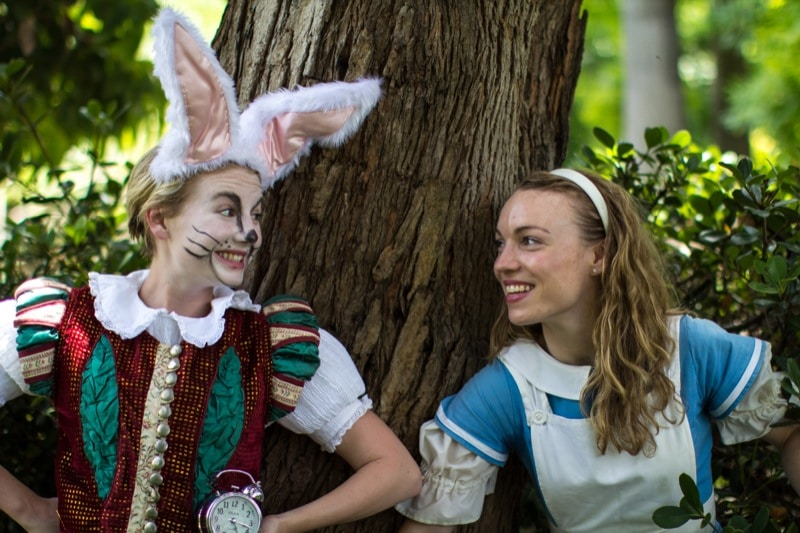 Sage Douglas as Alice in Wonderland - PHOTO CREDIT TONY RIVE