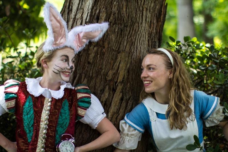 Sage Douglas as Alice in Wonderland - PHOTO CREDIT TONY RIVE