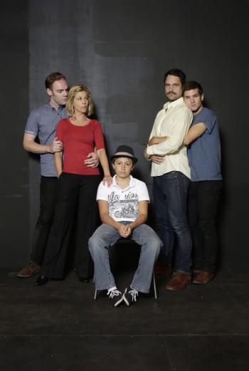 Stephen Anderson, Katrina Retallick, Anthony Garcia, Tamlyn Henderson and Ben Hall. Photo by Helen White.
