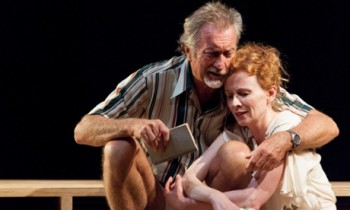 Bryan Brown and Alison Whyte. Photo by Brett Boardman.