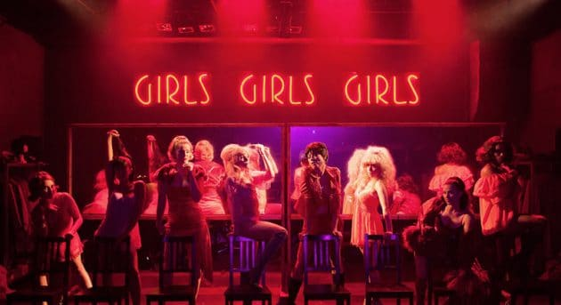 The female ensemble of Sweet Charity at Hayes Theatre Co. Image by Kurt Sneddon