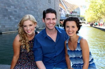 Lucy Durack, Matthew Robinson and Kellie Rode. Image by Scott Morris