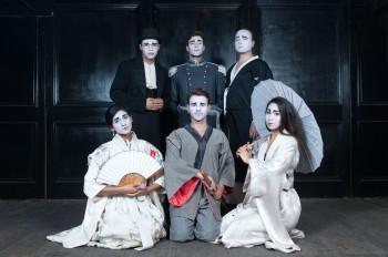 Sonya Suares, Adrian Li Donni, Nick Simpson-Deeks  (front), Reece Budin, Anton Berezin, Bianca Baykara Photo:  Sara Walker