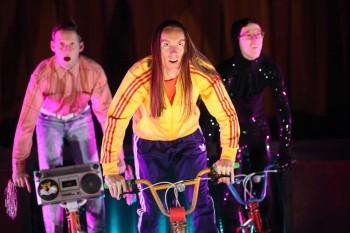 School Dance L-R: Jonathon Oxlade, Luke Smiles, Matthew Whittet Photo: Tony Lewis.