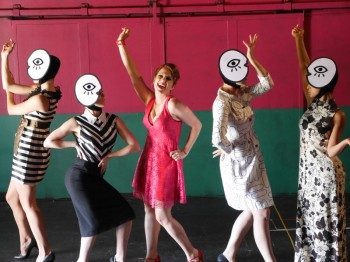 Verity Hunt Ballard and the female cast of Sweet Charity