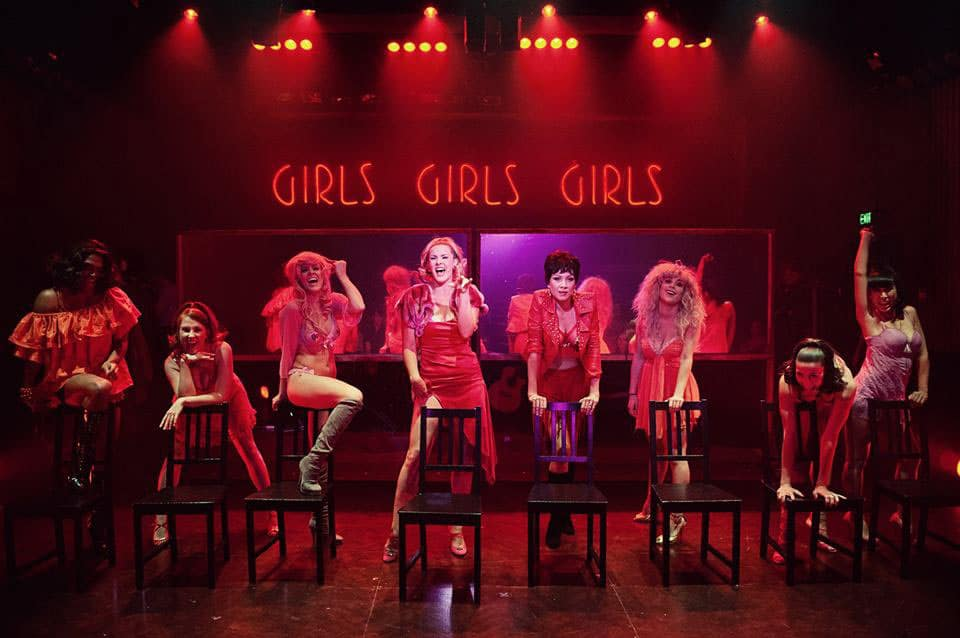 Sweet Charity at the Hayes Theatre Co, nominated for nine Sydney Theatre Awards.. Image by Kurt Sneddon