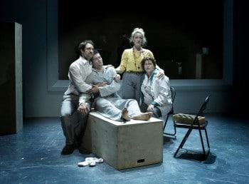 Tamlyn Henderson, Ben Hall, Elise McCann & Margi de Ferranti. Photo by Helen White.